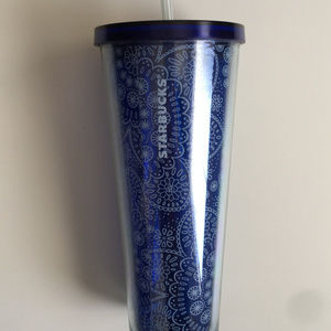 Starbucks Summer 2019 Blue Mandala Tumbler